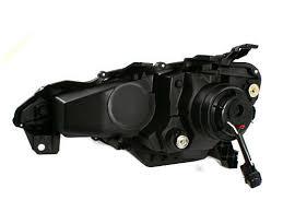 BLACK SCION FR-S <b>JDM STYLE</b> LED DRL BI-HALOGEN ...