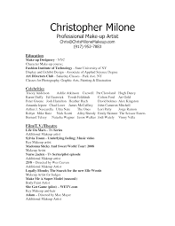 lance makeup resume sample job and resume template sample resume for makeup consultant