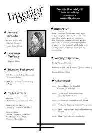 resume for interior designer resume for interior designer 0447