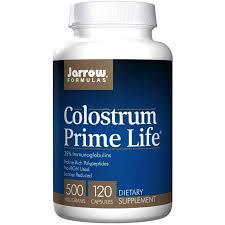 <b>Молозиво</b>, колострум, Colostrum, Jarrow Formulas, <b>500</b> мг, 120 ...