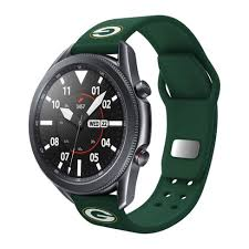 Nfl Green Bay Packers Samsung Watch Compatible <b>Silicone Sports</b> ...