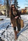 С чем носить зимнее пальто фото