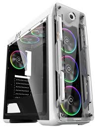 Компьютерный <b>корпус GameMax</b> G510 <b>Optical</b> White — купить по ...
