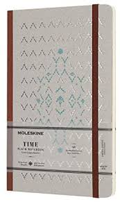 <b>Moleskine Time Notebook</b> Limited Collection Brown Large Plain ...