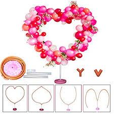 Decojoy Heart Balloon Arch Frame kit, <b>DIY Different</b> Balloon <b>Shape</b> ...