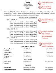 free combination resume templates  seangarrette coresume combo template example one combination resume format for  page resume     combination resume templates example
