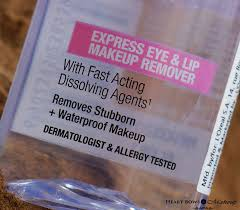 maybelline clean express waterproof eye lip makeup remover review india