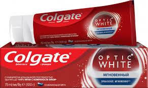 ROZETKA | <b>Зубная паста</b> Colgate Optic <b>White</b> отбеливающая ...