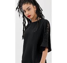 Черная декорированная <b>блузка</b> New Look - Черный asos ...