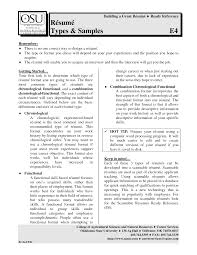 different types of resumes getessay biz resume types by tomsgreathits for different types of