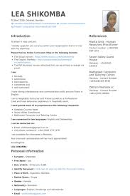 hospitality resume samples   visualcv resume samples databasehospitality instructor and trainer resume samples