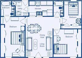 Low Income Residential Floor Plans by Zero energy Design®Home Floor Plan sq ft  Bedroom