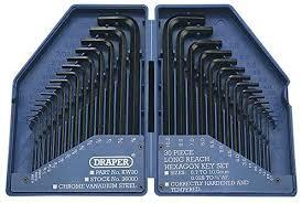 Draper 28744 Hex Key <b>Set</b> and Case (30 Pieces): Amazon.co.uk ...