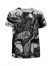 """Детские футболки c особенными принтами """"<b>викинги</b>"""" - купить в ..."""