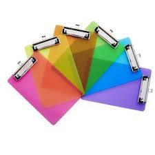 neon clipboards a5 clipboard clip boards