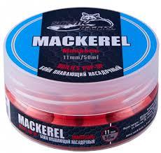 <b>Бойлы</b> плавающие <b>Sonik Baits</b> MACKEREL Fluo Pop-ups (11мм ...