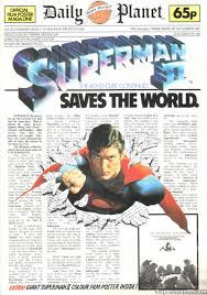com alexander salkind presents marlon brando gene superman ii uk poster magazine