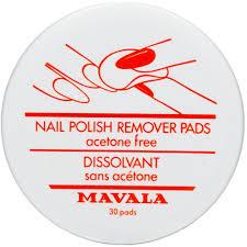 Mavala Nail Polish Remover Pads <b>Салфетки для снятия лака</b> ...
