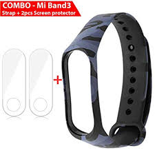 OrderDevice Compatible with Xiaomi MI Band 3 Strap Printed ...