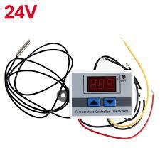 <b>12V 24V 220VAC</b> Digital LED Temperature Controller XH-W3001 ...