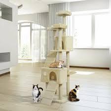 Pawhut 181cm Centre <b>Sisal Cat Tree</b> & Reviews | Wayfair.co.uk
