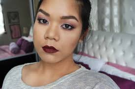 vy makeup matte eyes dark lips tutorial msia