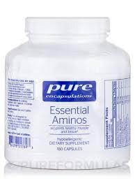 Essential Aminos - <b>180 Capsules</b>