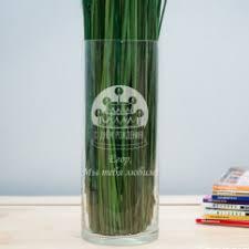 Гравировка на <b>вазе для</b> цветов — купить оригинальные ...