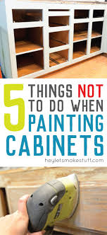 repainting cabinets wood diy appealing living painted