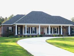 Colonial House Plan Front of Home Plan D    House Plans and    Colonial House Plan Front of Home D