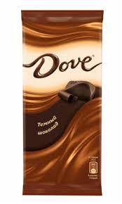 Купить оптом <b>ШОКОЛАД темный 90</b> гр. <b>Dove</b> в Санкт-Петербурге