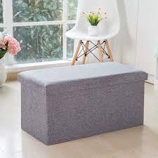 Buy <b>1Pc</b> Home Storage Box Solid Color Large Capacity Cloth Sofa ...