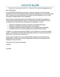 program coordinator cover letter sample job and resume template gallery of program coordinator cover letter sample