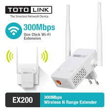 Беспроводной ретранслятор <b>TOTOLINK EX200</b> 300 Мбит/с, Wi Fi ...