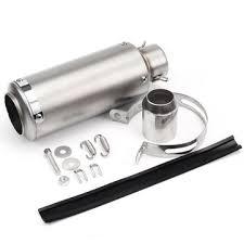 <b>36mm</b>-<b>51mm motorcycle</b> exhaust pipe scooter atv <b>modified</b> titanium ...