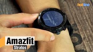 <b>Amazfit Stratos</b> — фитнес-трекер и спортивные часы с ...