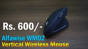 <b>Alfawise WM02 Vertical Wireless</b> 2.4GHz Mouse for Rs. 600 approx ...