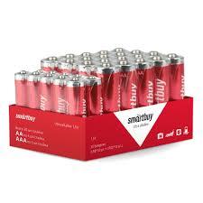 <b>Батарейка</b> LR6 (АА) 20 шт + LR03 (<b>ААА</b>) 10 шт <b>Smartbuy</b> купить ...