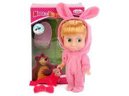 Купить <b>куклу</b> интерактивная <b>Карапуз Маша</b> и Медведь <b>Маша, в</b> ...