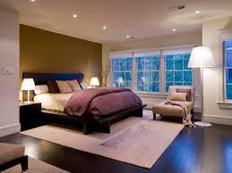 contemporary apartment bedroom design with beautiful cones floor lamp and best recessed ceiling lighting best lighting for bedroom