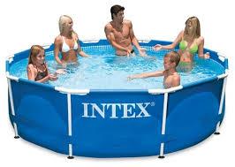Купить <b>Бассейн Intex Metal Frame</b> 28202/56999 по низкой цене с ...