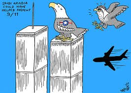 Image result for SAUDI 9/11 CARTOON