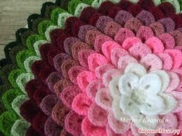 Сидушки и коврики крючком или спицами схемы вязания и ...