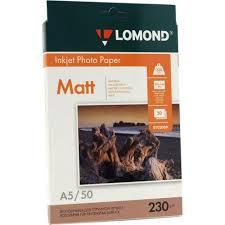 LOMOND 0102069 (A5, 15x21см, 50 листов, 230 г / м2) <b>бумага</b> ...