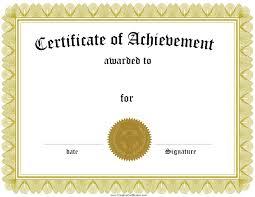 resume template award templates certificate of achievement award templates certificate of achievement award regard to 87 glamorous templates for word