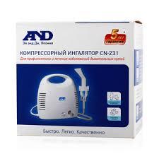 AND <b>CN</b>-<b>231 ингалятор</b> компрессорный купить по цене 2 999,0 ...