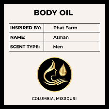<b>Phat Farm Atman</b> - Inspired Men's Fragrance - Body Oil