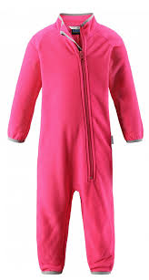 <b>Комбинезон</b> флисовый <b>детский Lassie</b>, цвет: <b>розовый</b> ...