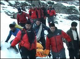 نتیجه تصویری برای امداد نجات کوهستان