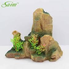 <b>Saim</b> Mountain View Stone <b>Fish Tank Aquarium</b> Decoration ...